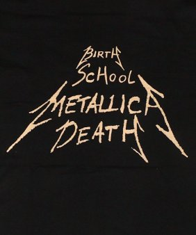 Birth, School, Metallica, Death book