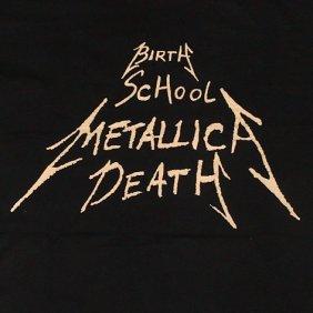 Birth, School, Metallica, Death book