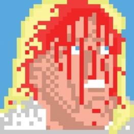Bleeding Flair sticker