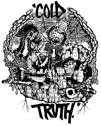 Cold Truth shirt design