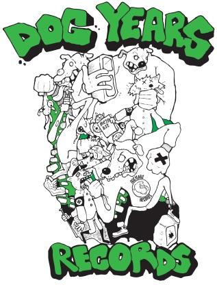 Dog Years Records shirt design