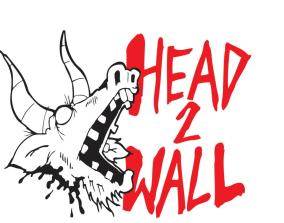 Head 2 Wall records shirt design