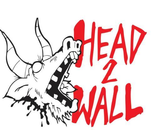 Head 2 Wall records shirt design