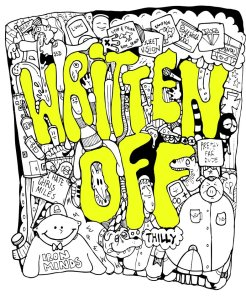 Written Off shirt design