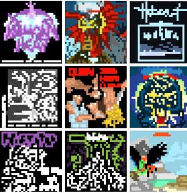 8 Bit Record Collector