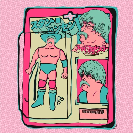 Stan Hansen Action Figure - Full Color