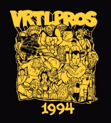 VRTLPROS 1st Stage '94 shirt design